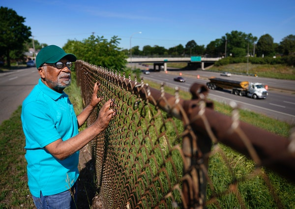 Rondo resident and community organizer Marvin Anderson, whose home and family business were destroyed in the 1960s when the freeway system came into t