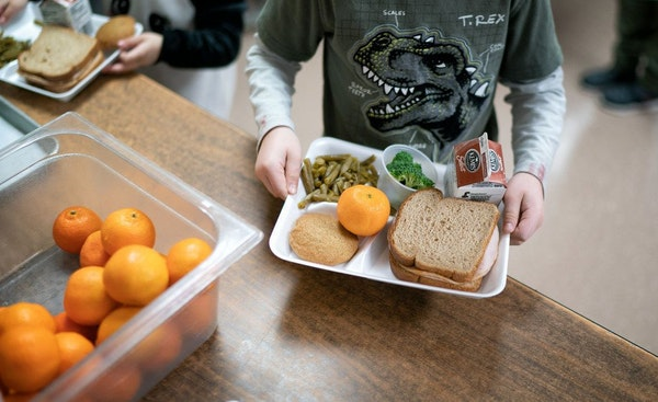 Minnesota lawmakers have halted school lunch shaming over unpaid debts. (Star Tribune file photo by Glen Stubbe)