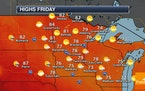 Drought Worsens - Showers For Southern Minnesota Friday