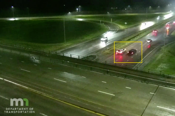 Traffic cameras show route suspect vehicle took in fatal Hwy. 169 shooting
