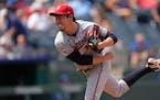 Kenta Maeda notched a career-high 10 strikeouts last Sunday in Kansas City.