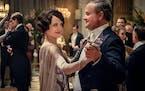 "Elizabeth McGovern and Hugh Bonneville in ""Downton Abbey,"" the film."