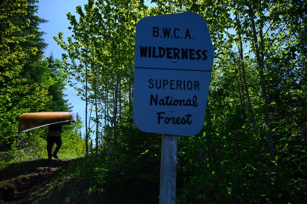 Forest Service officials have temporarily banned campfires in the Superior National Forest, including the Boundary Waters Canoe Area Wilderness, and c