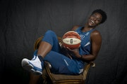 So good for so long: Sylvia Fowles is seen here in 2019, flashing a smile too many sports fans are missing by ignoring the Lynx.
