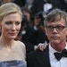 """Cate Blanchett and director Todd Haynes at the screening of the film """"Carol."""""""