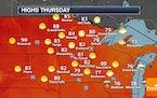 Sunny Thursday - Air Quality Alert In Northern Minnesota