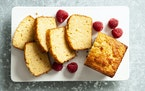 Pound cake makes a tasty base for fresh berries, but is also fine just on its own.