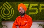 Deepinder Singh is founder and chief executive of 75F, which just attracted its first sizable capital from a strategic investor.
