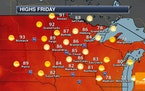 Warm, Hazy Conditions Continue As The Drought Continues To Worsen
