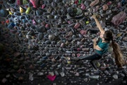 Kyra Condie is a Minnesotan who will compete in climbing at the 2020 Olympics. ] CARLOS GONZALEZ • cgonzalez@startribune.com – Minneapolis, MN –