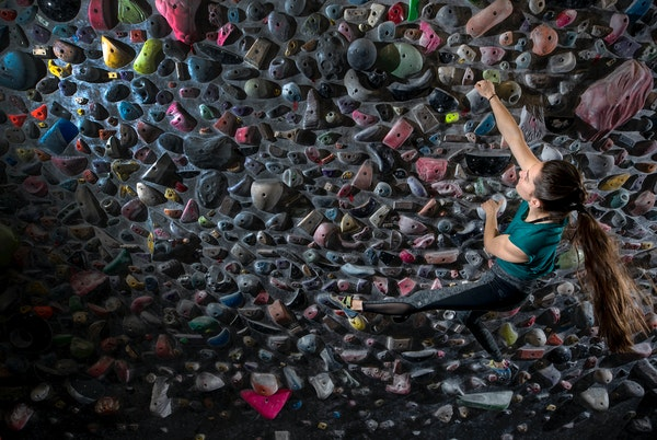 Climbing for gold: Shoreview's Condie one to watch in new Olympic sport