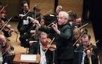 Osmo Vänskä with the Minnesota Orchestra.