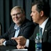 Wild owner Craig Leipold, left, and General Manager Bill Guerin have shown a willingness to make bold, risky moves in trying to build a contender.