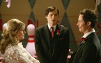 """Julie Bowen, Michael Ian Black and Tom Cavanagh in the series finale of """"Ed."""""""