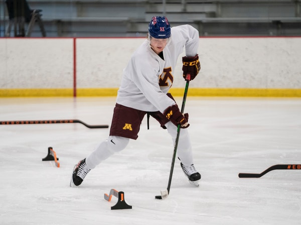 A future Gopher at age 14, now he's a first-round NHL draft prospect