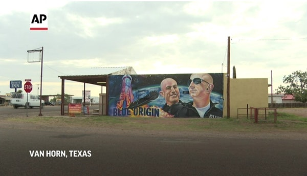 Blue Origin brings space exploration to Texas town