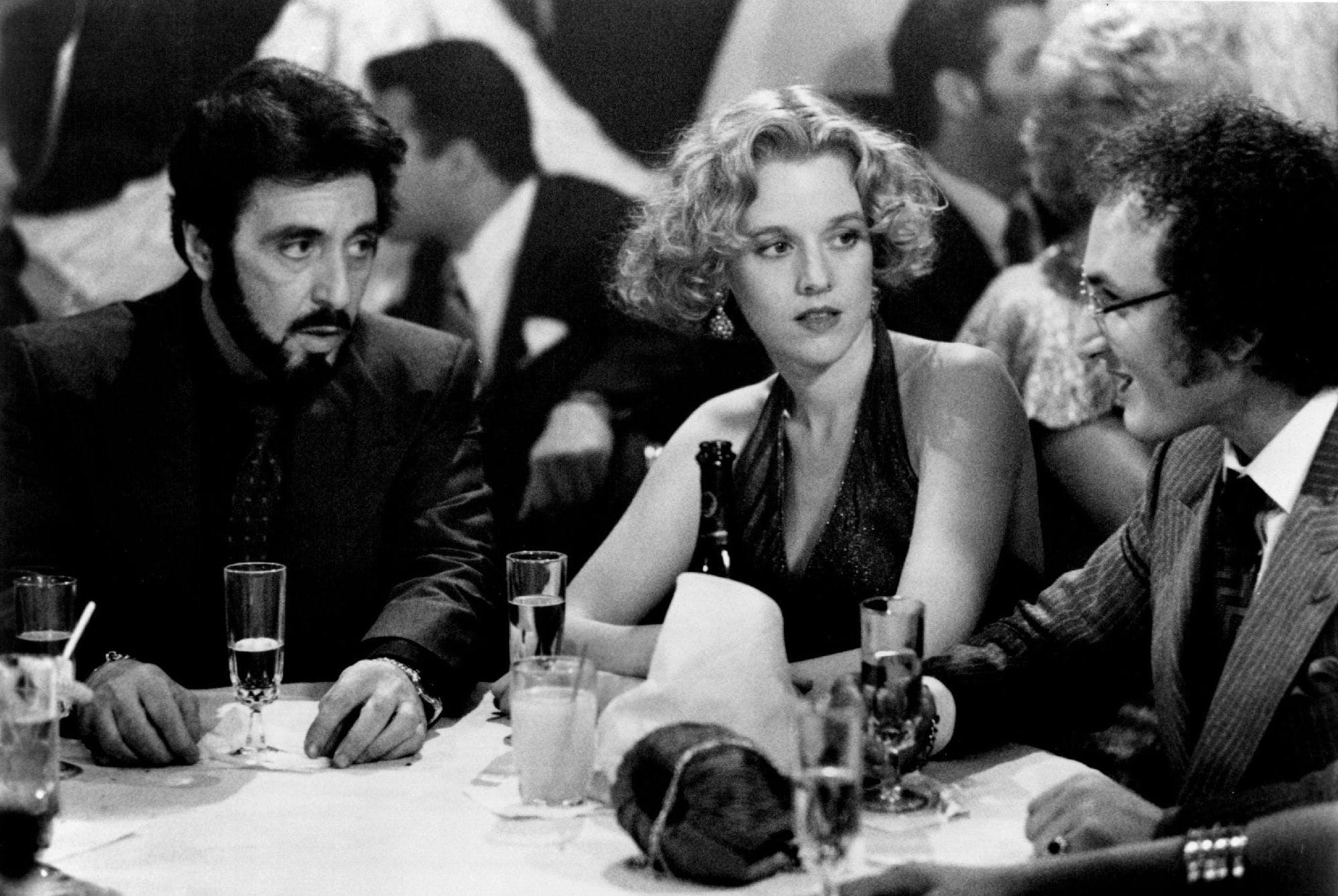 Al Pacino, Penelope Ann Miller and Sean Penn in