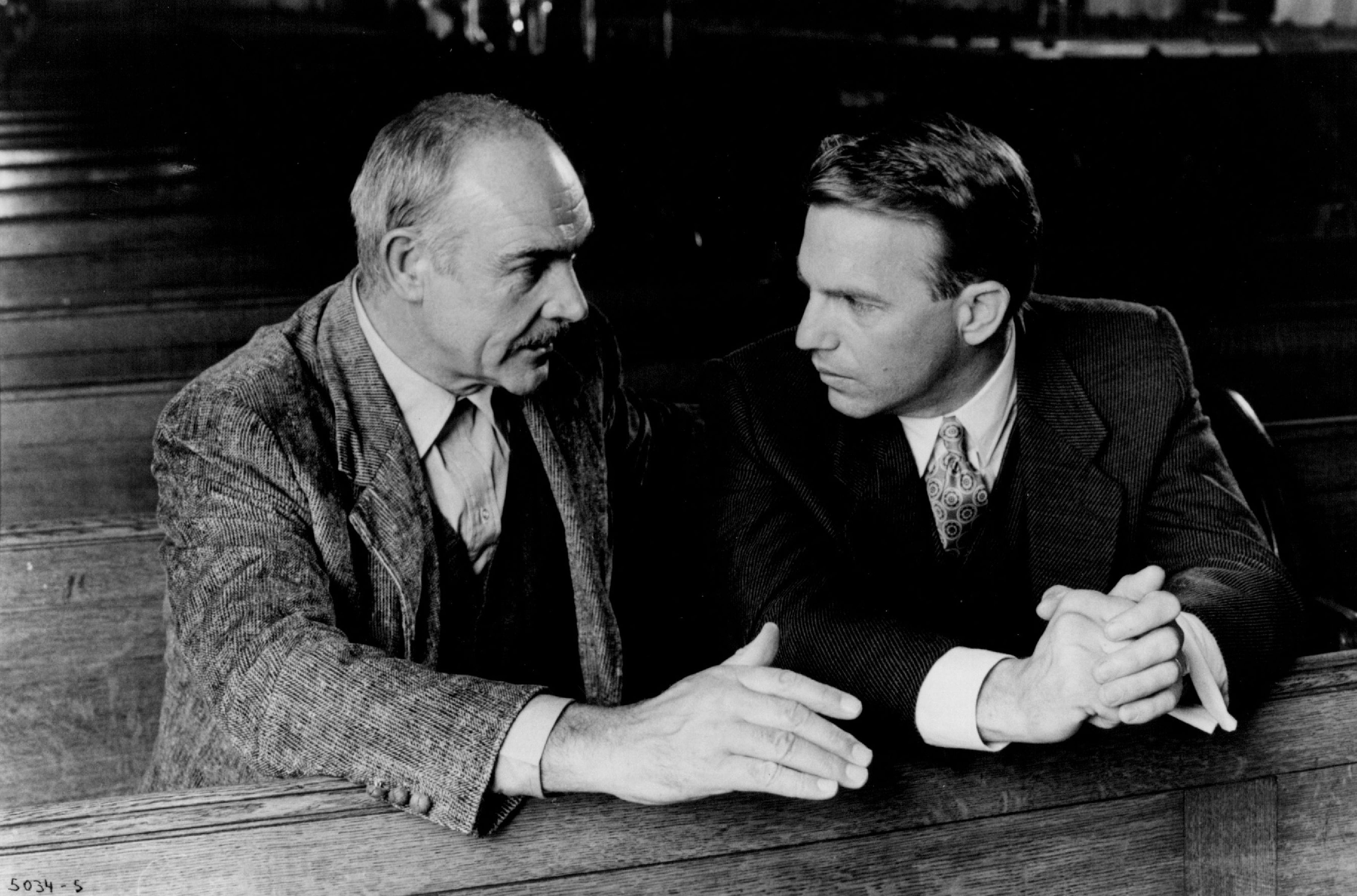 Sean Connery and Kevin Costner in