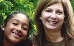 Elizabeth Mack and her granddaughter.