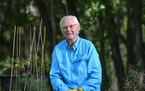 Among his many endeavors, Don Shelby starts trees from seed and then plants them in the wild.
