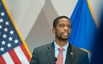 St. Paul Mayor Melvin Carter, pictured at a news conference in January. GLEN STUBBE • glen.stubbe@startribune.com