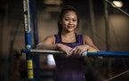 Suni Lee is the first Hmong-American to represent the United States in an Olympics.