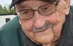 Walt Straka, 101, is shown in 2019.