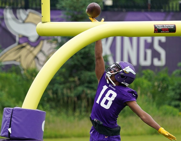 Vikings training camp preview: Who's the No. 3 receiver?