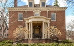 The 1895 brick Georgian Colonial in St. Paul designed by Cass Gilbert features five bedrooms and 3½ baths and spans more than 6,000 square feet.