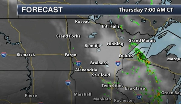 Evening forecast: Low of 72; partly cloudy with a storm possible in a few spots