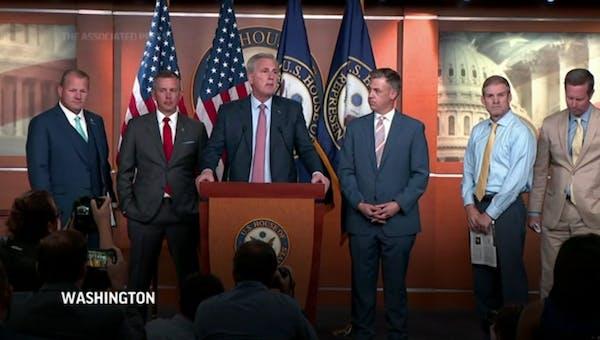 McCarthy blasts Pelosi over Jan 6. committee picks