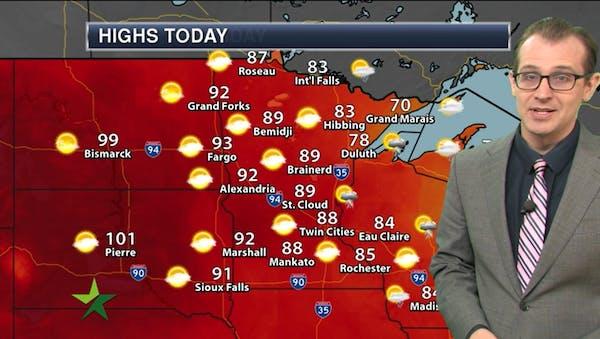 Morning forecast: More smoky, hazy, 90-degree weather