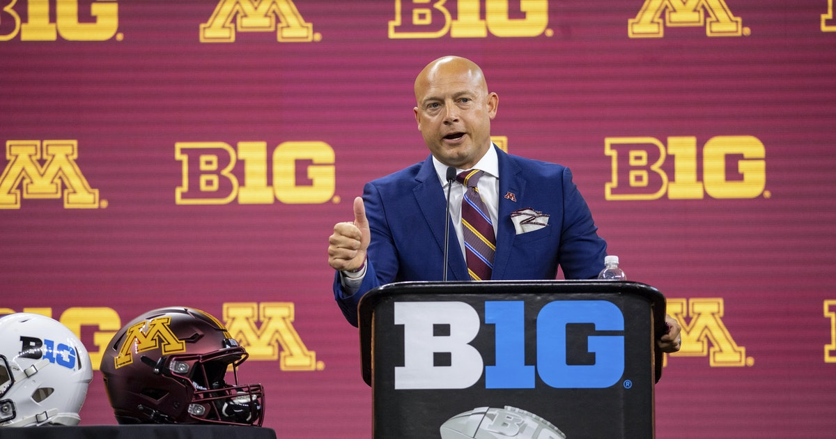 P.J. Fleck opens Big Ten Media Days brimming with enthusiasm about the Gophers