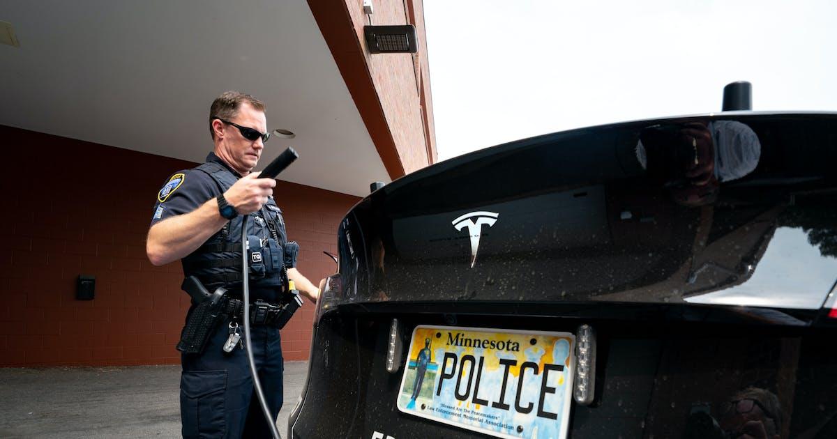 Eden Prairie police add Tesla to fleet