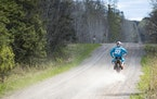 Baylor Litsey rode his dirt bike May 7 on a county road near Nemadji State Forest.