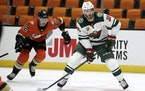 Ryan Hartman and the Wild will open the season in Anaheim where, unlike last season, the stands should be full.