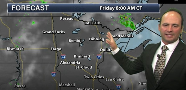 Evening forecast: Low of 73, mostly clear, setting up a hot Friday