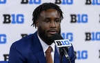 Gophers running back Mohamed Ibrahim, speaking to reporters at Big Ten football media days, said it was time for the NCAA to end its restrictions on c