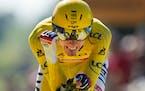 On Sunday Tadej Pogacar of Slovenia won the Tour de France. Six days later, he competes at the Olympics.
