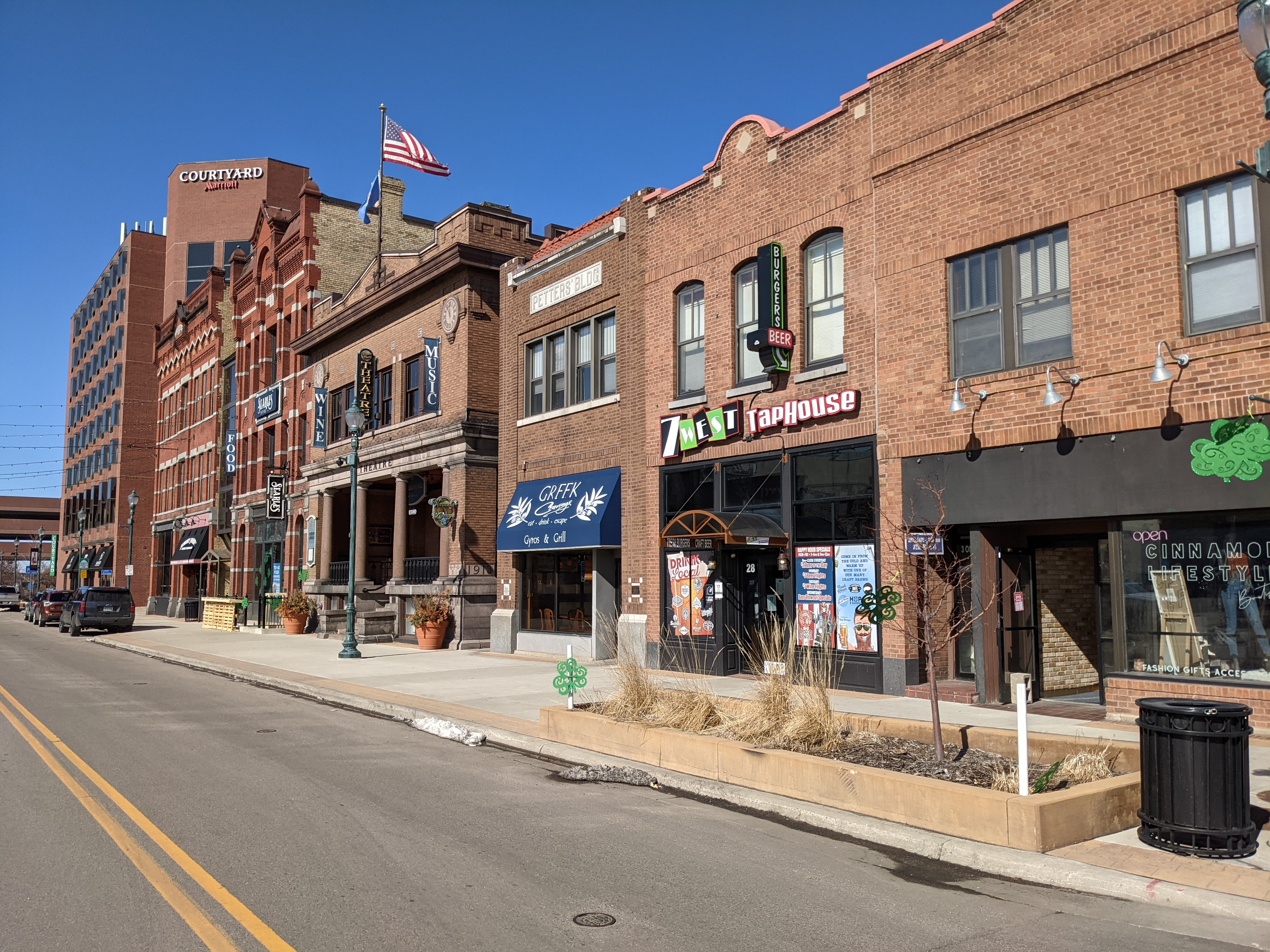 Fifth Avenue in downtown St. Cloud.