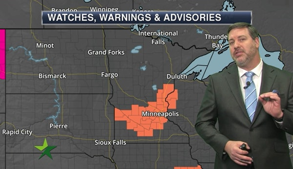 Morning forecast: Heat index will approach 100