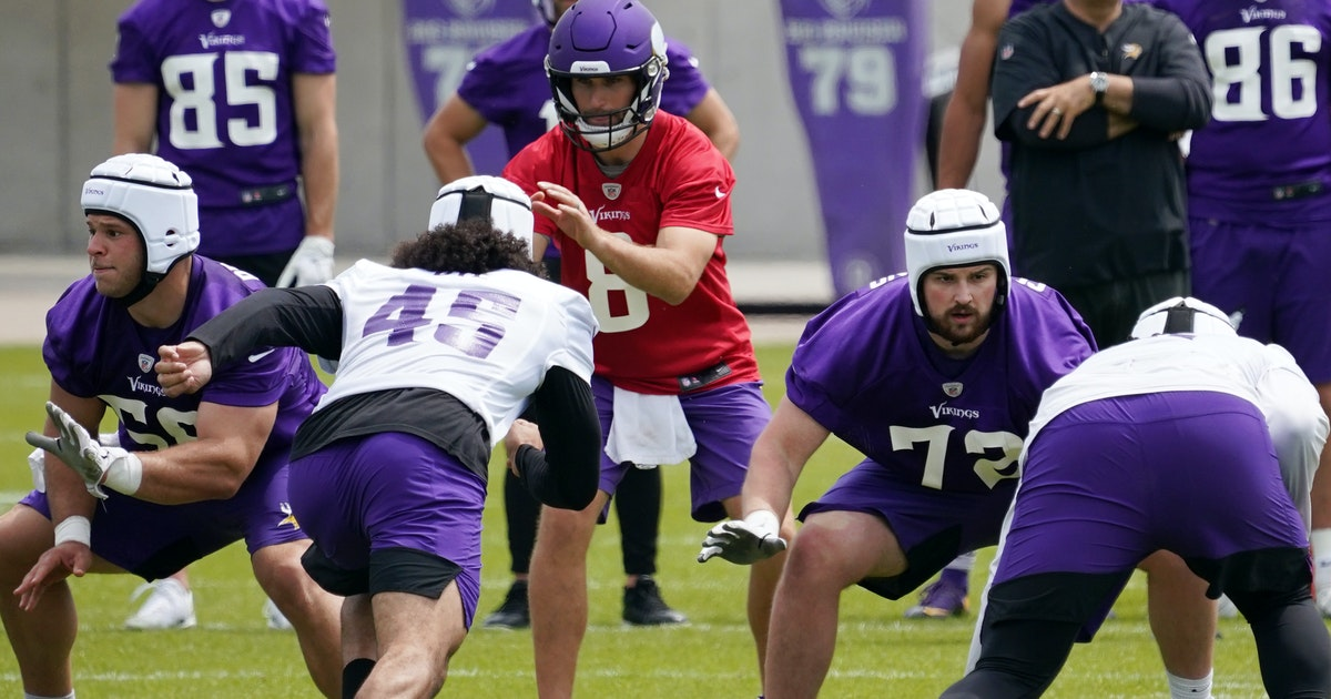 Vikings training camp position preview: Offensive line