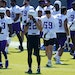 Vikings safety Harrison Smith (22) is surrounded by a lot of new faces in the secondary.