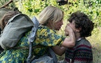"""Emily Blunt and Noah Jupe in a scene from """"A Quiet Place Part II."""""""