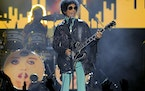 Prince performs at the 2013 Billboard Music Awards at the MGM Grand Garden Arena in Las Vegas.