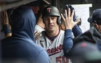 """Twins outfielder Brent Rooker: """"The next two months are a real good opportunity for a lot of our young guys to learn who we are as players."""""""