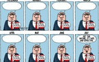 Editorial cartoon: Walt Handelsman on vaccine hesitancy