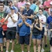 Fans on the 9th hole clapped after a successful putt during the first round of the 3M Open in Blaine. ] CARLOS GONZALEZ • cgonzalez@startribune.com