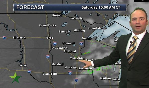 Evening forecast: Low of 75, humid and mostly cloudy with chance of storms late or overnight