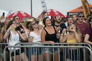 Concertgoers sang along to Brett Young at the Twin Cities Summer Jam at Canterbury Park in Shakopee, Minn., on Friday, July 23, 2021. ] RENEE JONES SC